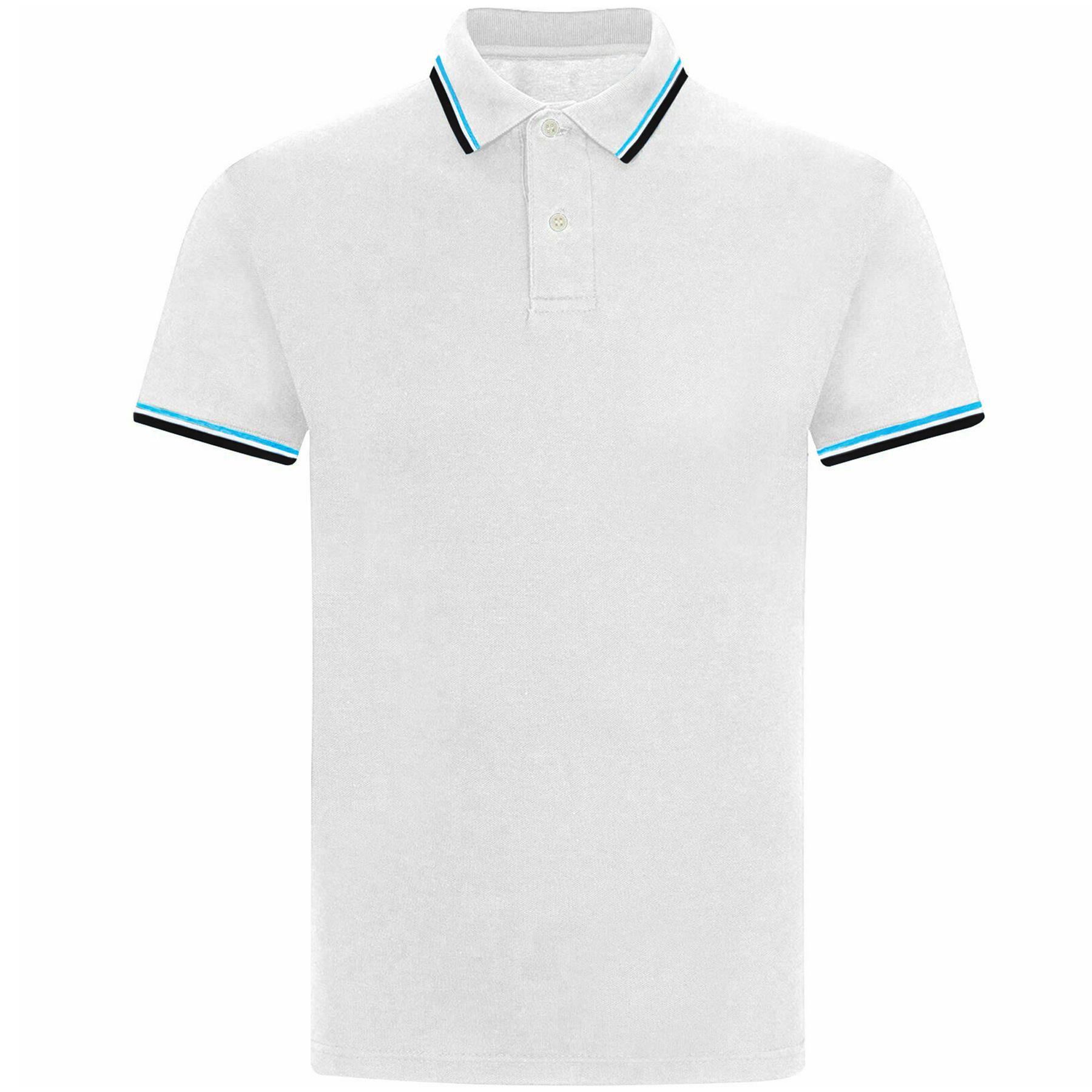 Indexbild 77 - Herren Polohemd Freizeit T-Shirts Neu Schlicht Kurzärmeliges Regular Fit