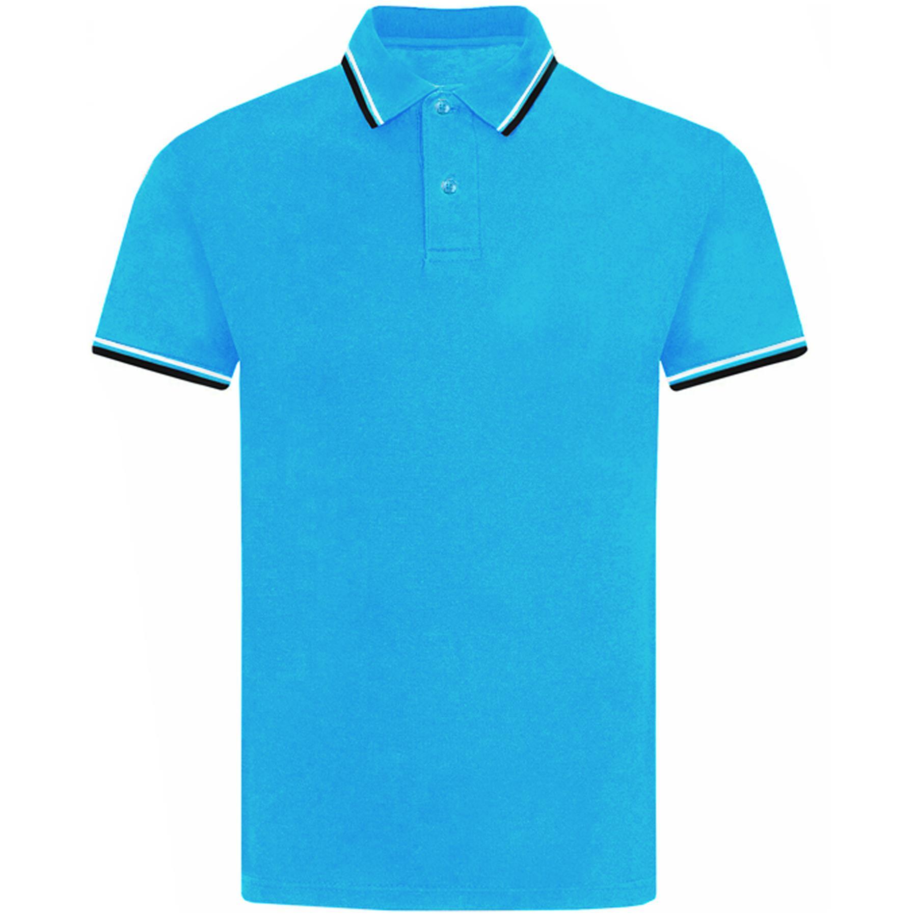 Indexbild 71 - Herren Polohemd Freizeit T-Shirts Neu Schlicht Kurzärmeliges Regular Fit