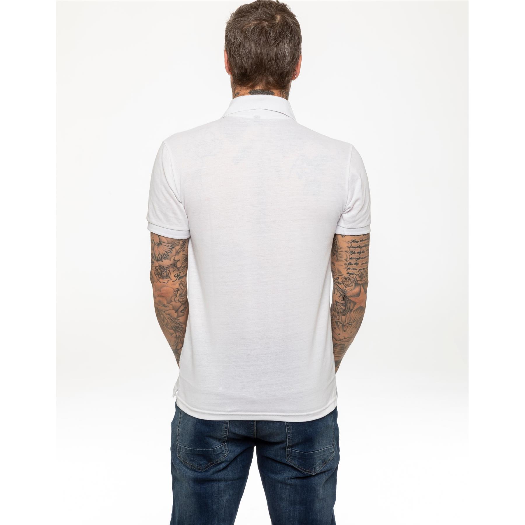 Indexbild 60 - Herren Polohemd Freizeit T-Shirts Neu Schlicht Kurzärmeliges Regular Fit