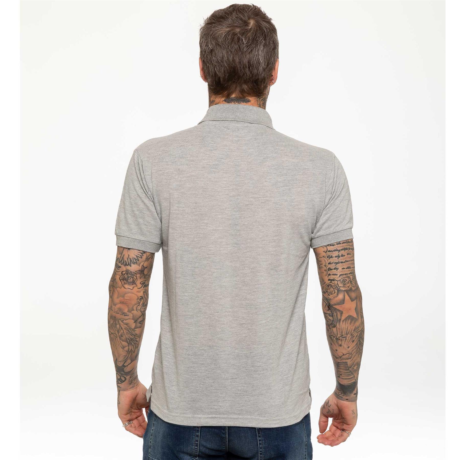 Indexbild 22 - Herren Polohemd Freizeit T-Shirts Neu Schlicht Kurzärmeliges Regular Fit