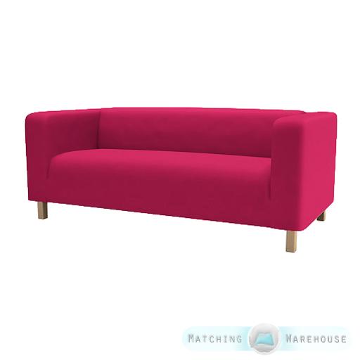 housse pour ikea klippan canap 2 places jet de lit causeuse coton serg ebay