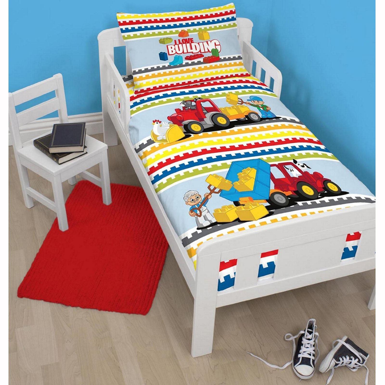 Lego funda de edred n cama para ni o junior individual - Funda para edredon ...