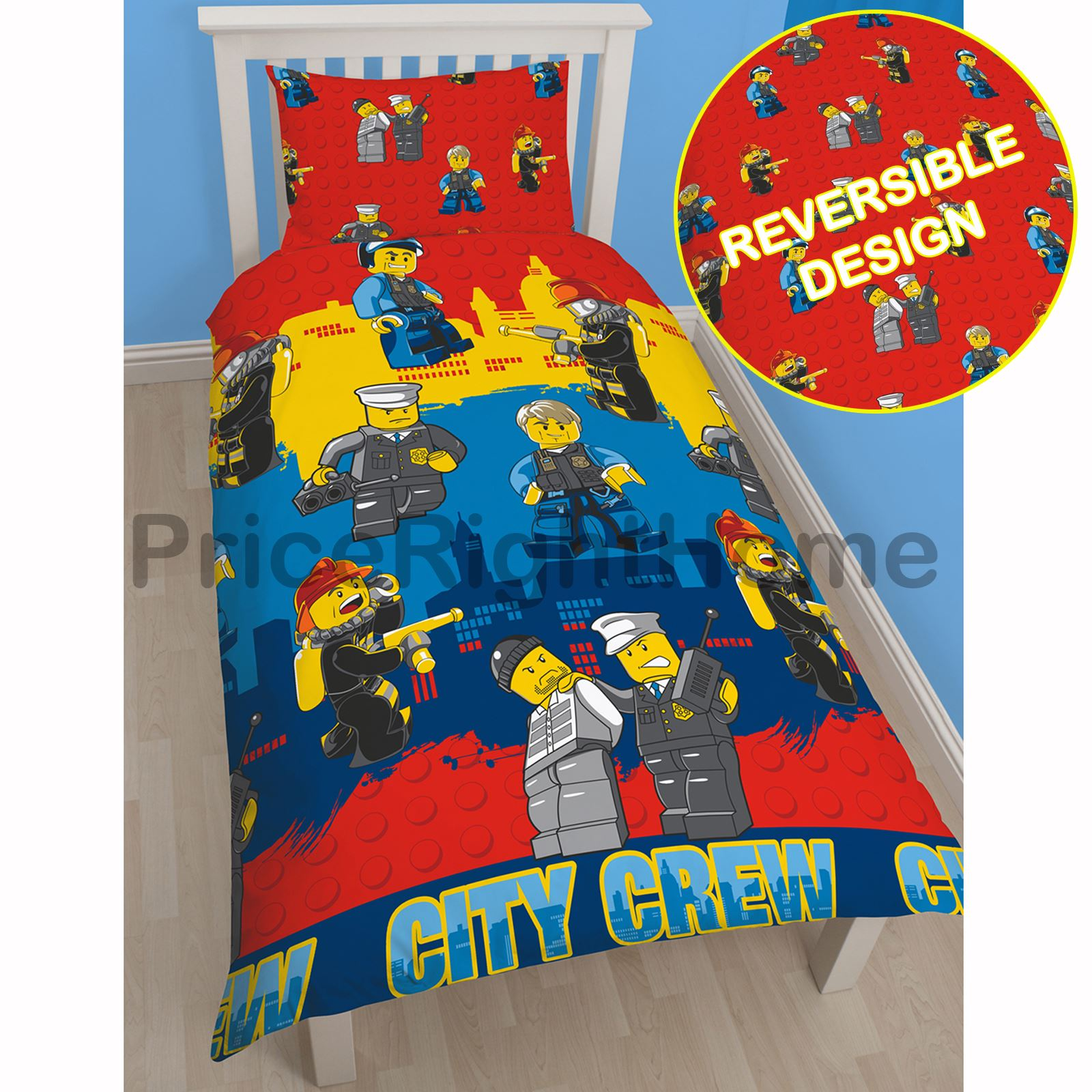Kids Lego Bedroom: LEGO DUVET COVERS KIDS BEDDING JUNIOR, SINGLE
