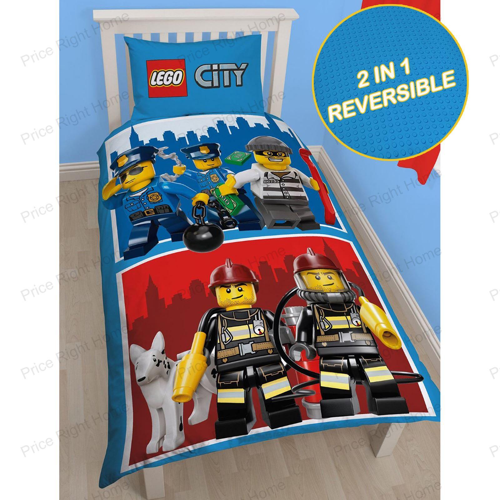 lego bettbez ge kinder bettw sche junior einzeln ninjago star wars batman ebay. Black Bedroom Furniture Sets. Home Design Ideas