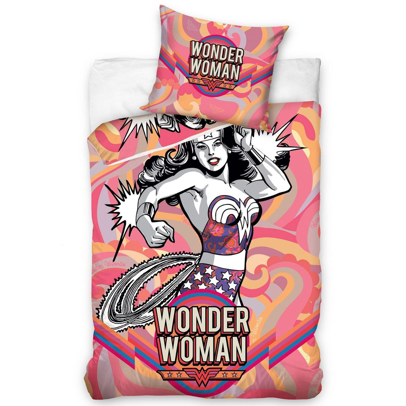 Official Dc Comics Duvet Cover Sets Wonder Woman Batman