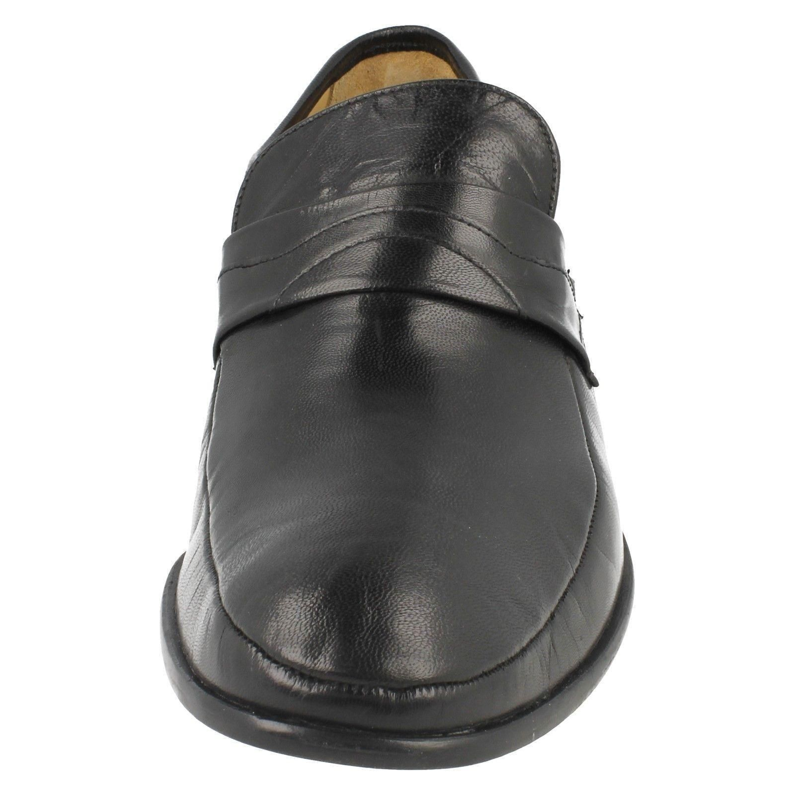 Swindon on Pelle Scarpe Thomas Blunt Slip Di Uomo xUBPq