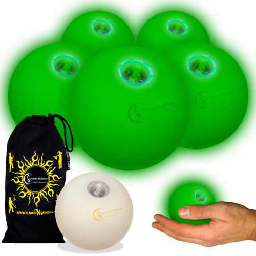 ASTRIX UV Thud Juggling Balls Set of 3 Leather Juggling Ball Bag