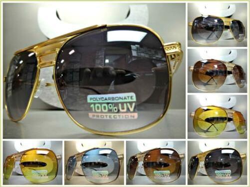 d8eb51b0de71 Men's or Women Classic Vintage Retro Aviators Style Sunglasses ...