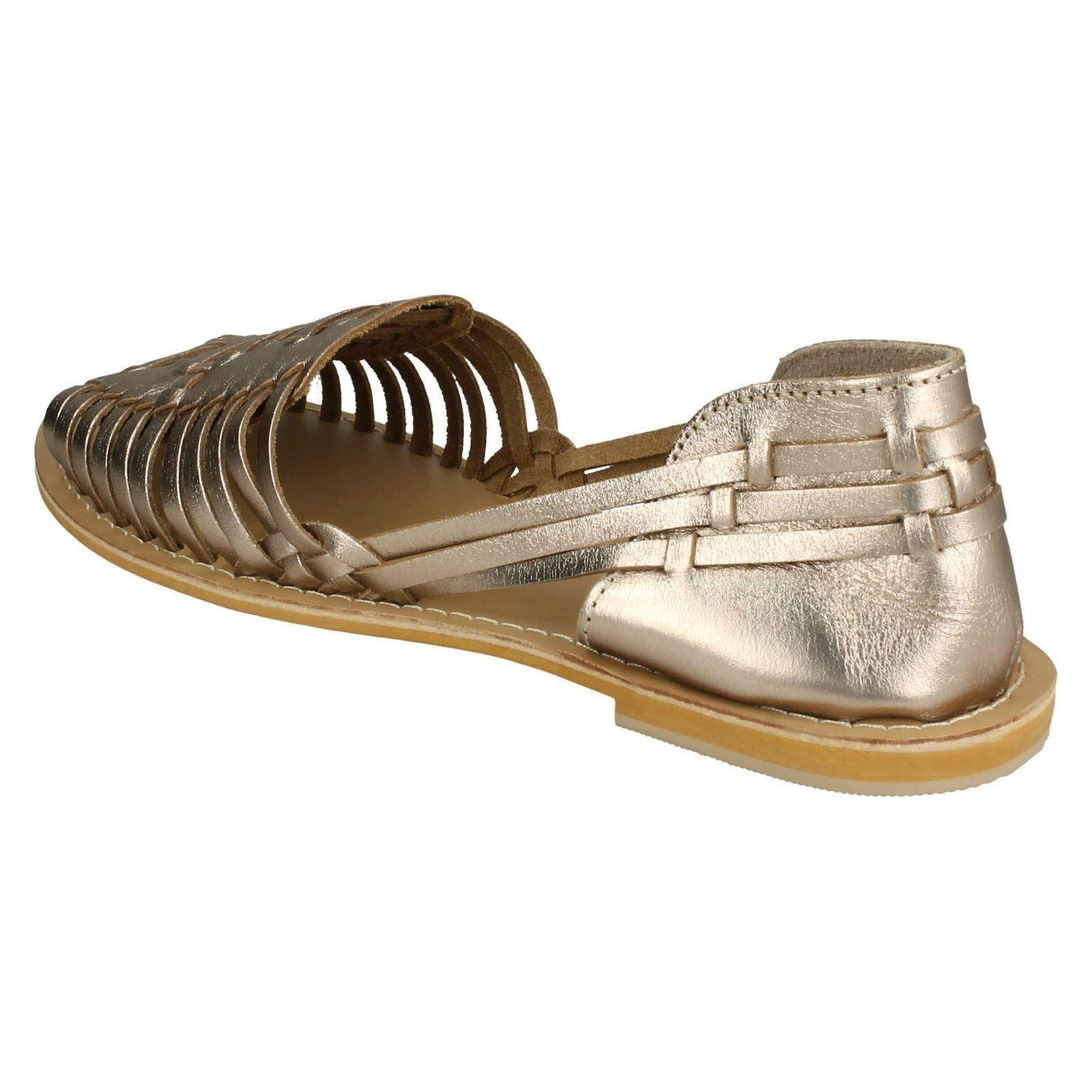 Mujer-Leather-Collection-Tejido-Plano-039-Sandalias-039