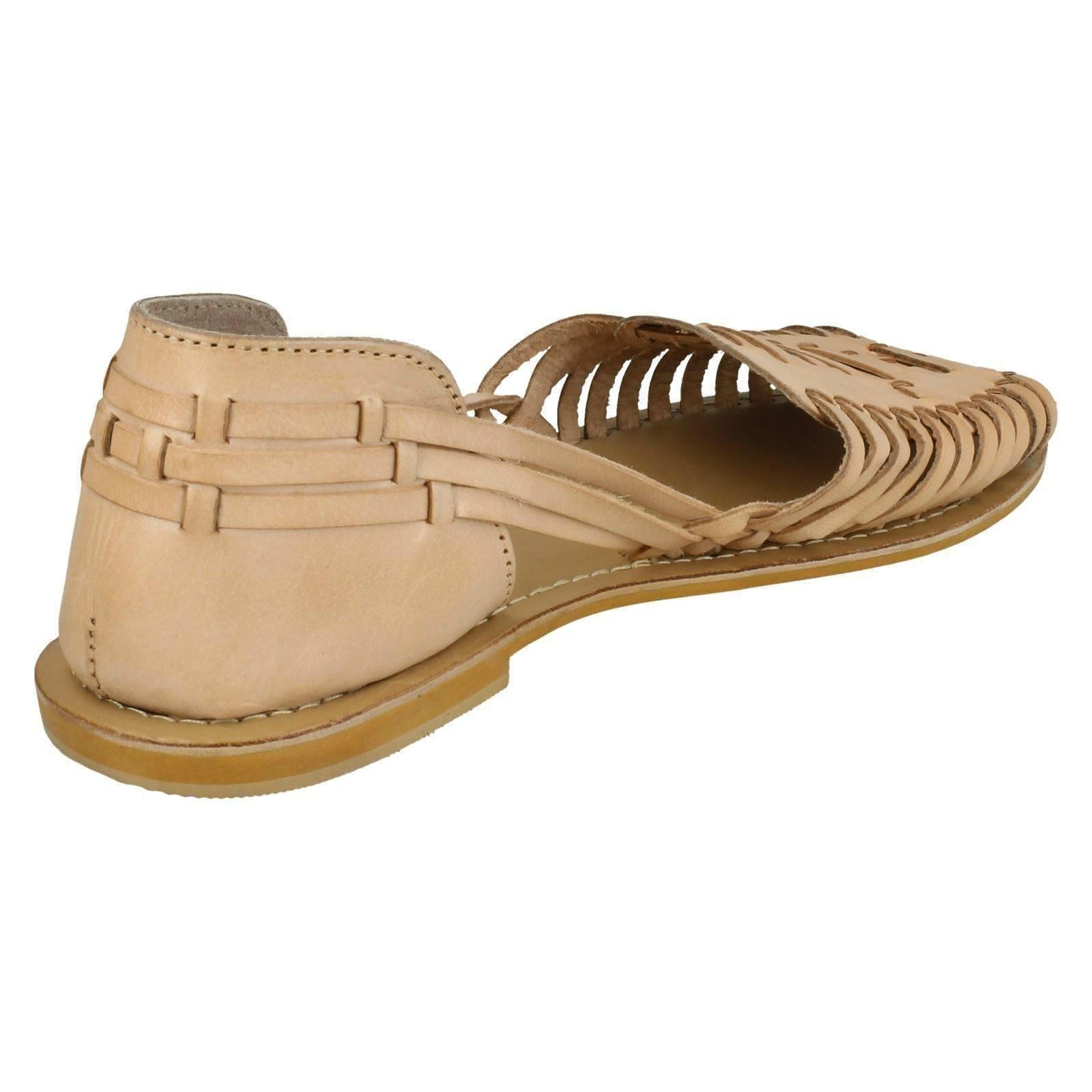 Mujer-Leather-Collection-Tejido-Plano-039-Sandalias-039