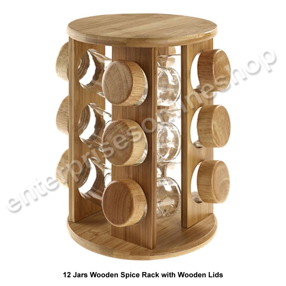 12 16 tournant rotatif en bois plastique cuisine porte. Black Bedroom Furniture Sets. Home Design Ideas