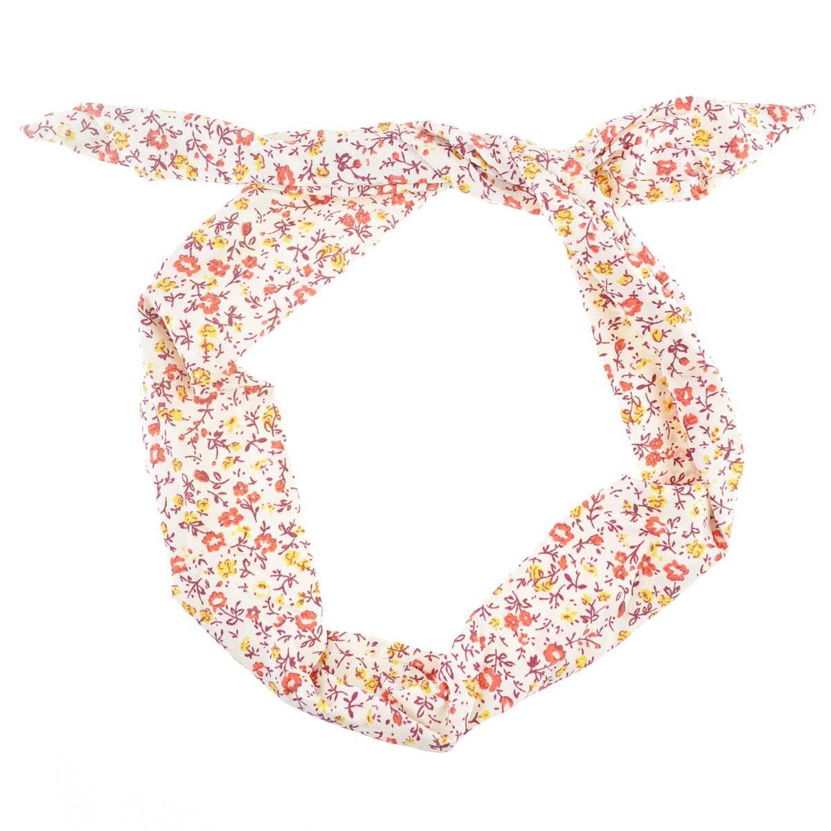 kleines Blumenmuster draht-kopfband Retro Band gewickelt Haare ...