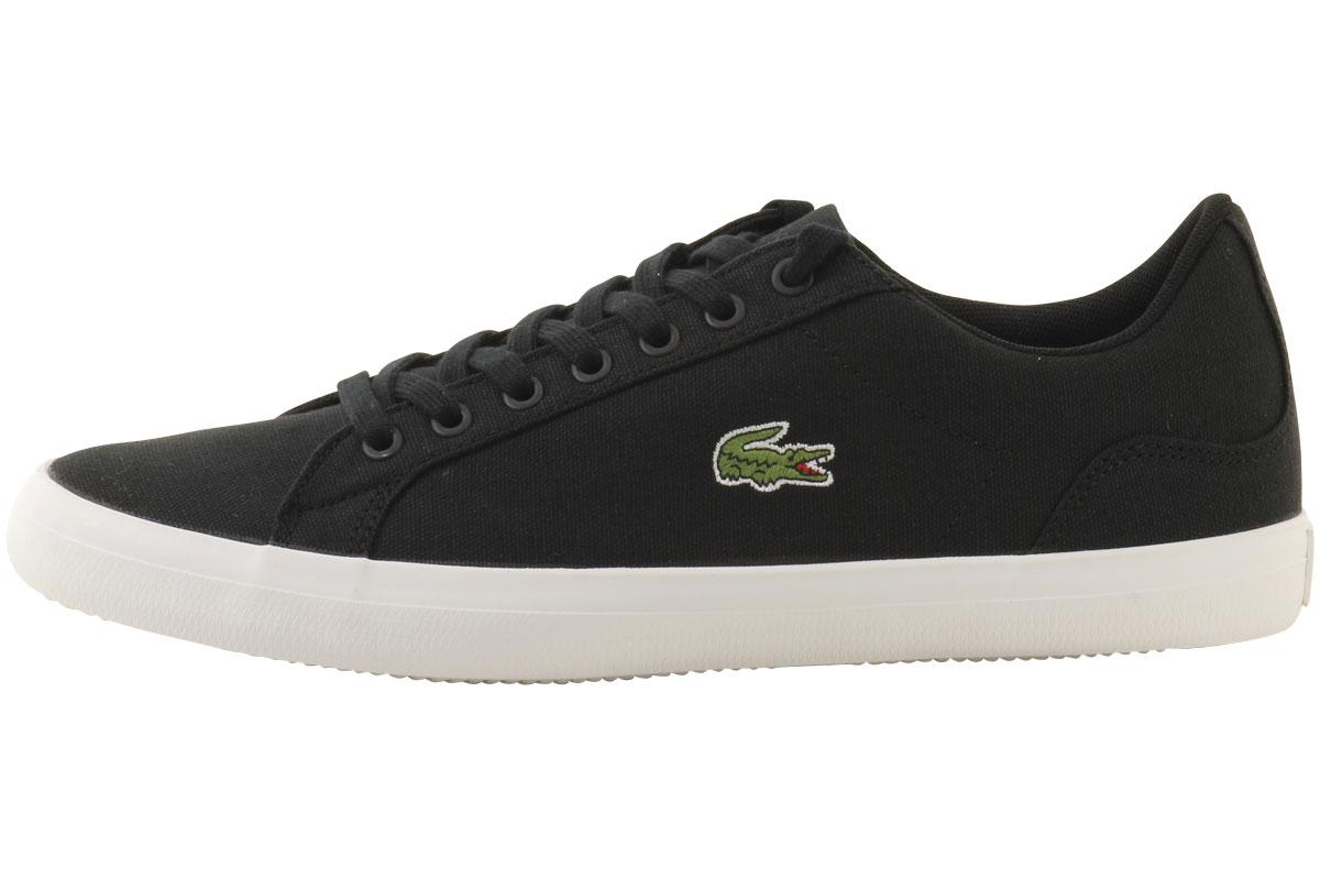 1797f1f9a59960 Lacoste Men s Lerond-BL-2 Canvas Sneakers Shoes