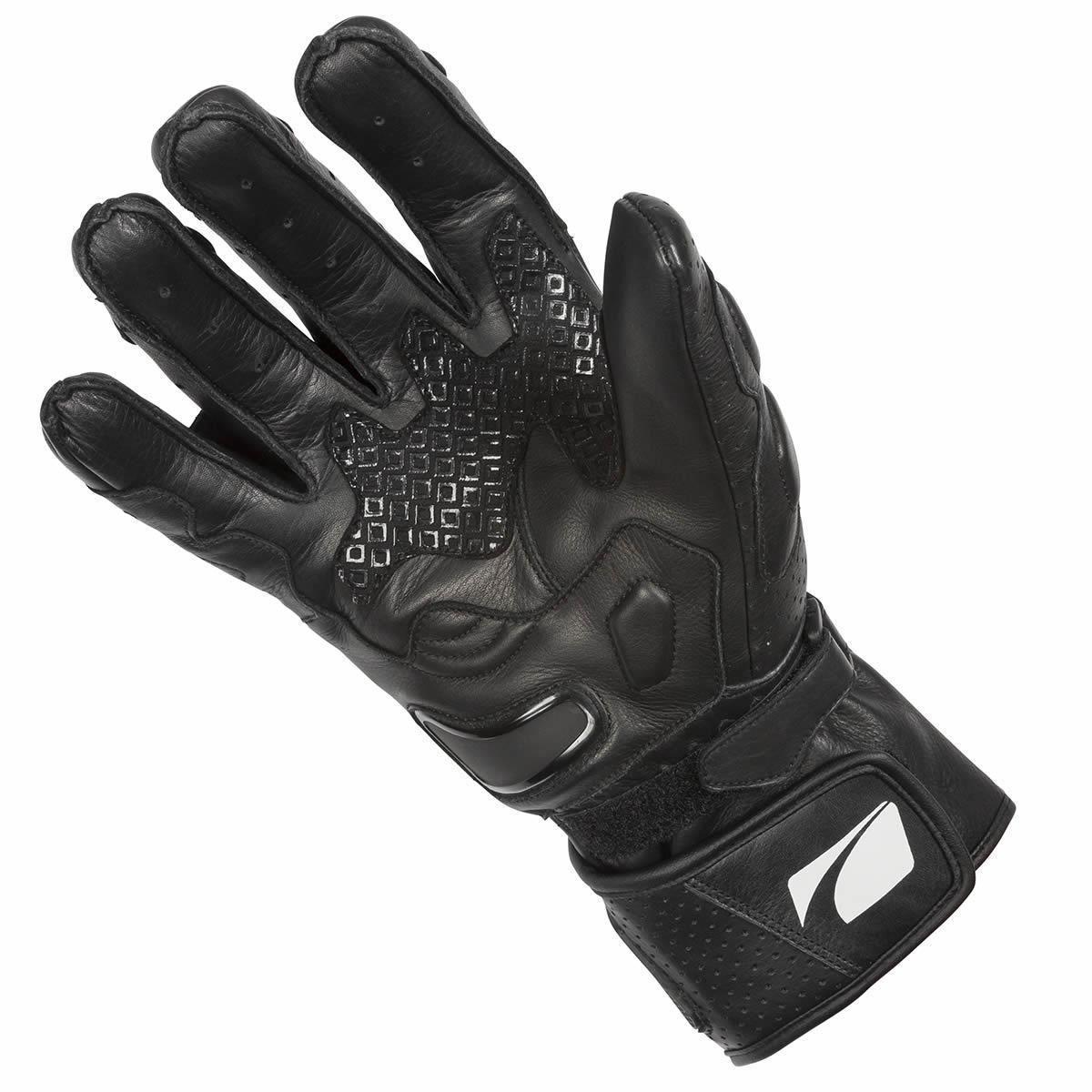 Spada-Covert-Ce-Gants-Moto-Cuir-Noir-Racing-Renforce miniature 11