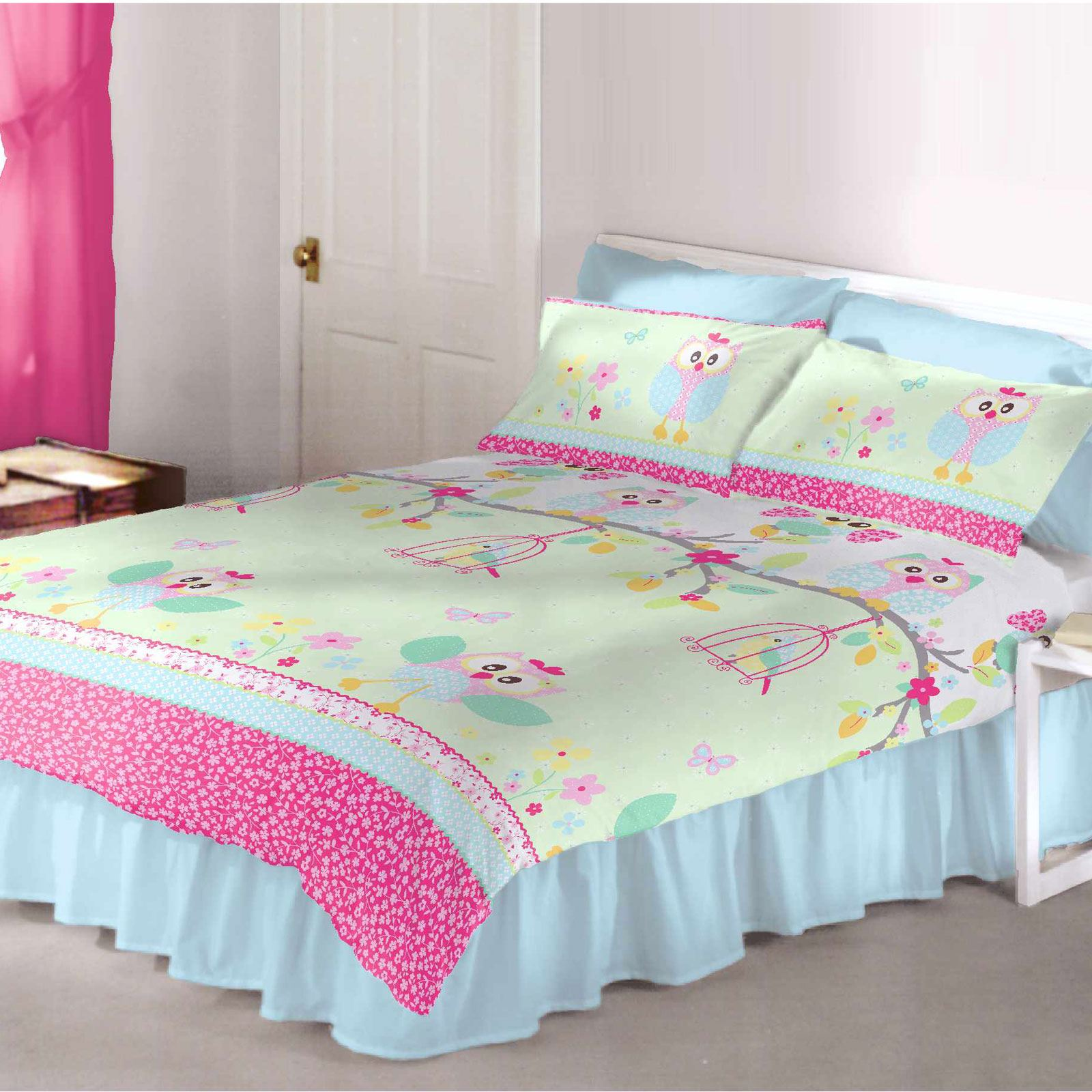 Bed sheets designs for girls - Exclusive Double Duvet Cover Sets Kids Designs Bedding