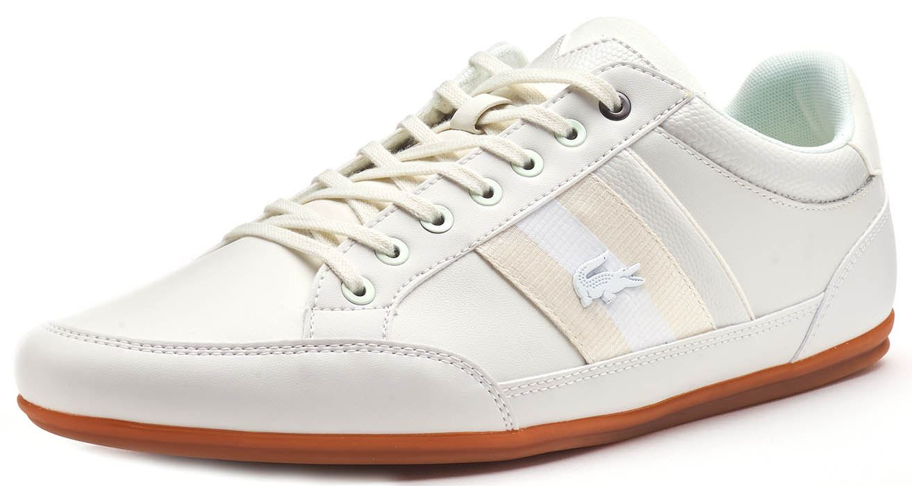 Lacoste-Chaymon-119-5-CMA-amp-BL-1-cma-Trainers-in-White-Blue-Brown-amp-Black