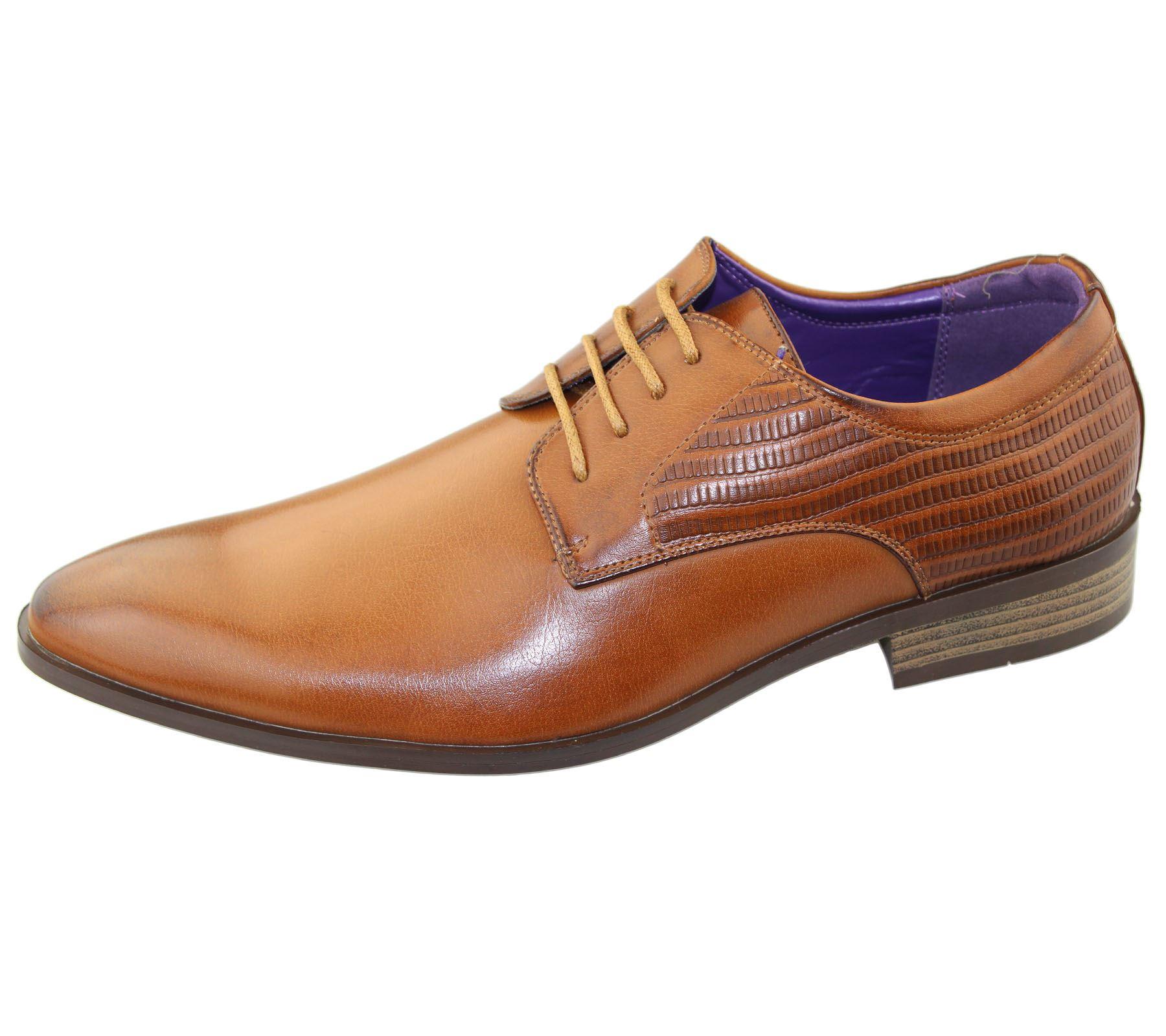 Herren Brogues Schuhe Büro Freizeit Hochzeit Formell Smart Kleid Neu Größe