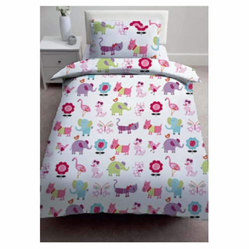 Childrens Single Bed Size Kids Duvet Quilt Cover Sets With