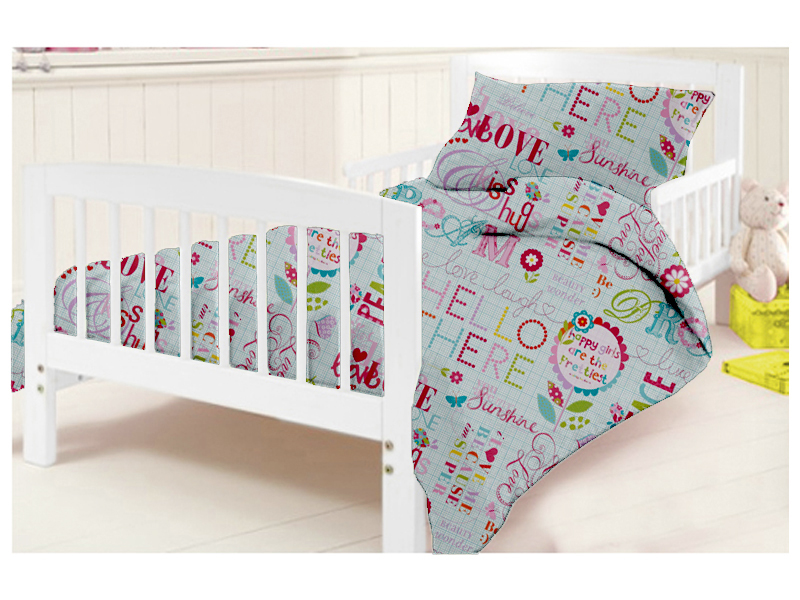 Kinder kinderbett bettbezug kissenbezug set kinderzimmer baby kleinkind kinder ebay - Kinderzimmer set baby ...