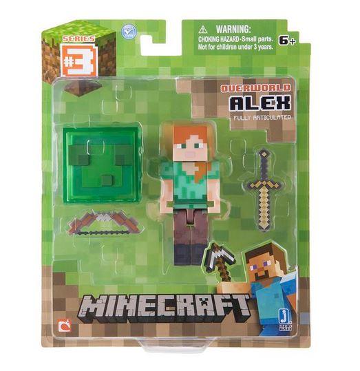 Minecraft-7-6cm-Figuras-de-accion-totalmente-articulado-amp-Accesorios-Overworld