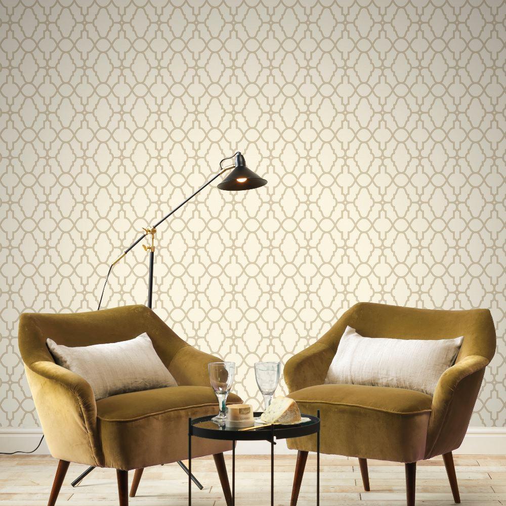 Rasch-Casablanca-Trellis-Metallic-Elegant-Textured-Vinyl-Shimmer-Wallpaper thumbnail 17