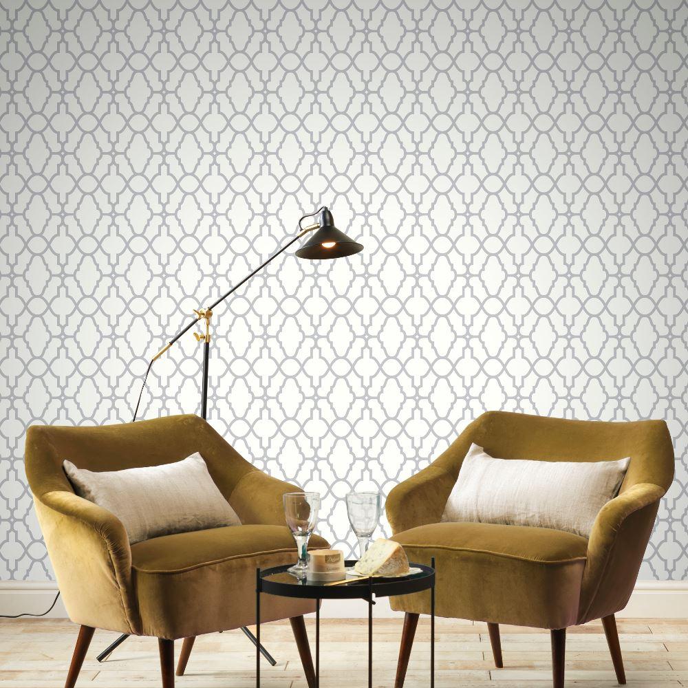 Rasch-Casablanca-Trellis-Metallic-Elegant-Textured-Vinyl-Shimmer-Wallpaper thumbnail 12