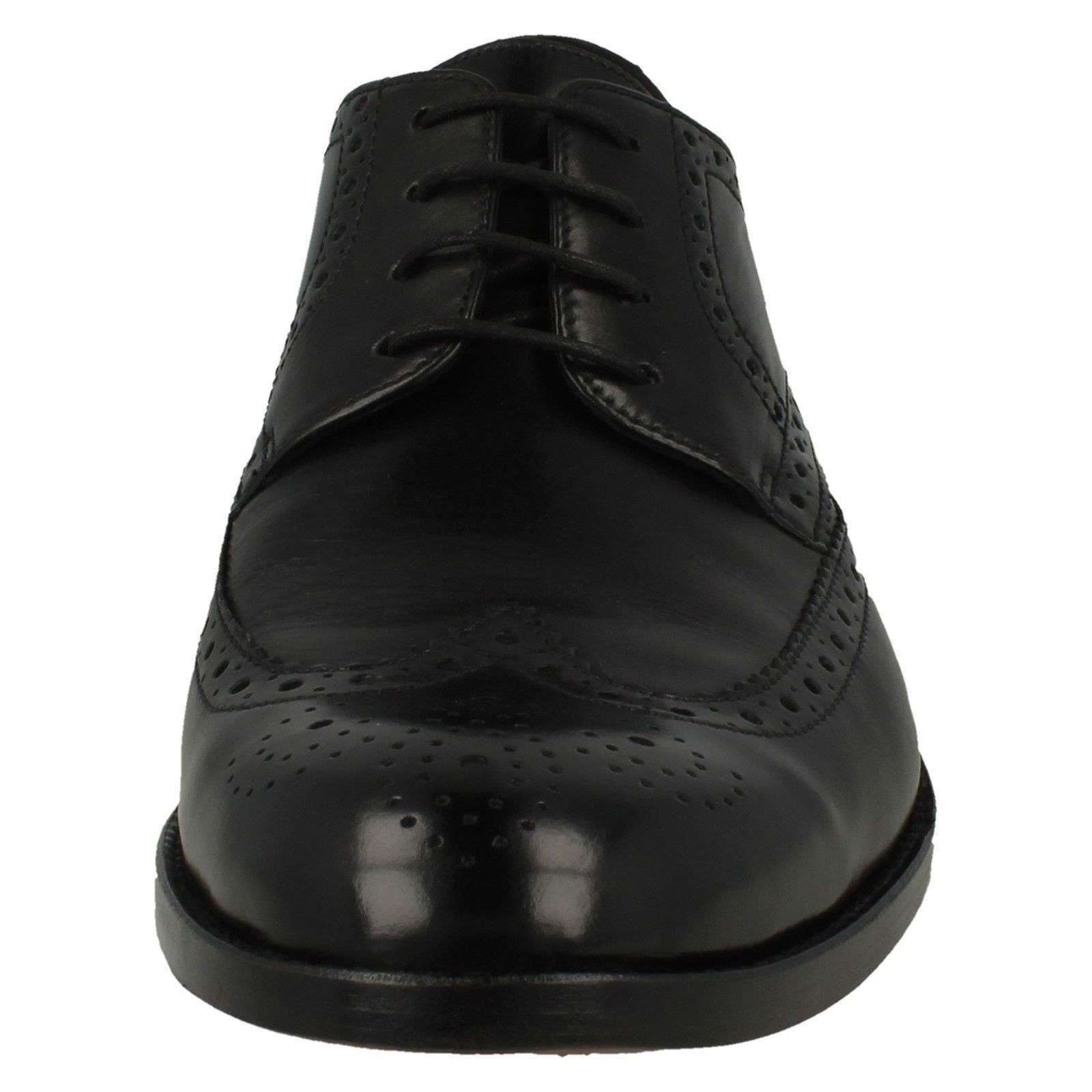 Con Zapatos Formal Detalle James Wing Clarks Brogue Hombre wvqt6x