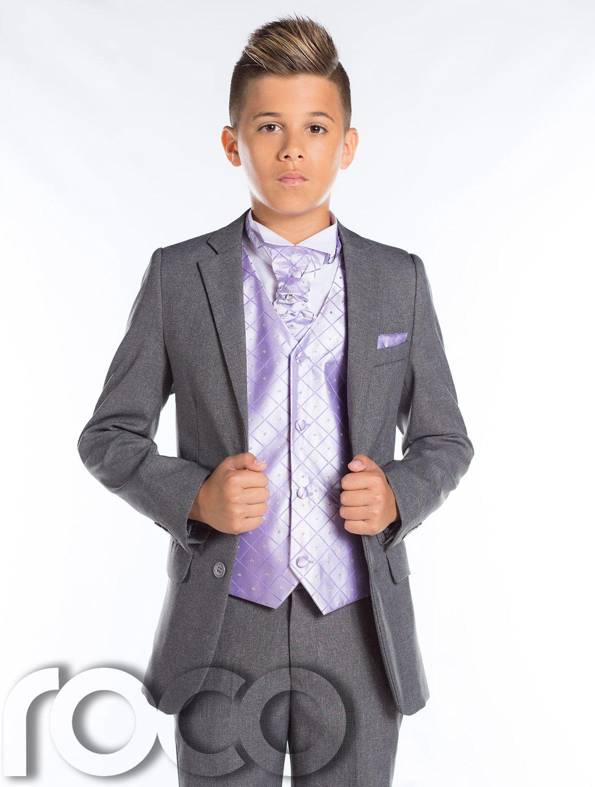 jungen grauer anzug schmal passform prom anzug grau seite anzug jungen anzug ebay. Black Bedroom Furniture Sets. Home Design Ideas