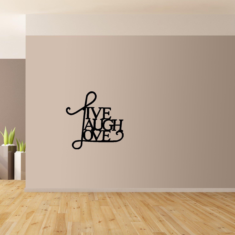 Live-Laugh-Love-Da-Parete-Arte-Gigante-Adesivo-Murale-Grafico