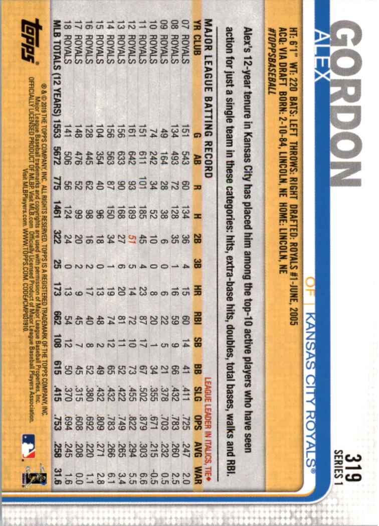 2019-Topps-Baseball-Scheda-Scegliere-251-500 miniatura 139