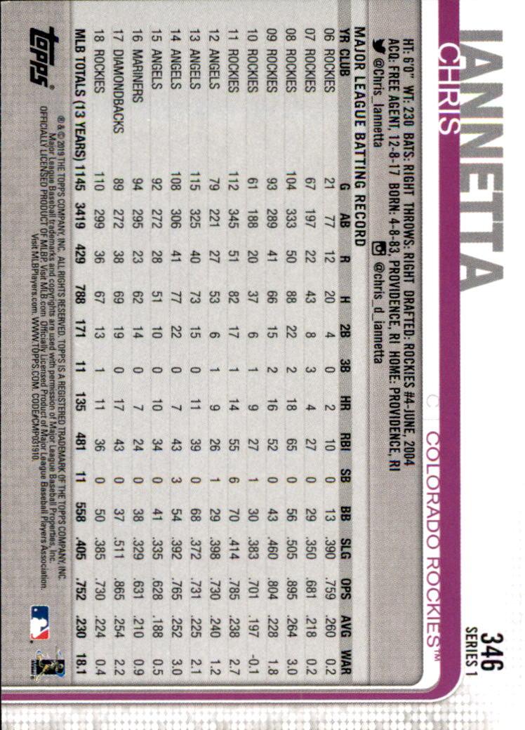 2019-Topps-Baseball-Scheda-Scegliere-251-500 miniatura 193