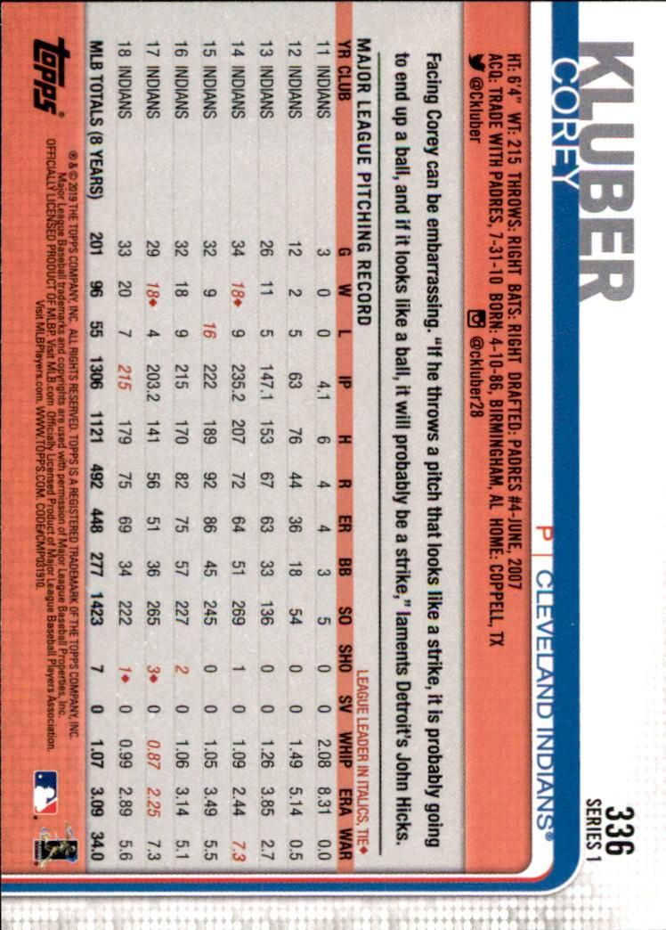 2019-Topps-Baseball-Scheda-Scegliere-251-500 miniatura 173