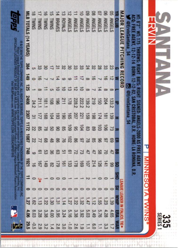 2019-Topps-Baseball-Scheda-Scegliere-251-500 miniatura 171