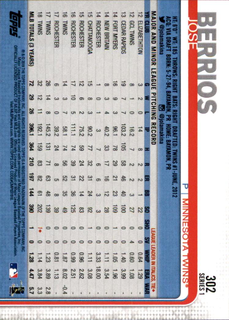 2019-Topps-Baseball-Scheda-Scegliere-251-500 miniatura 105