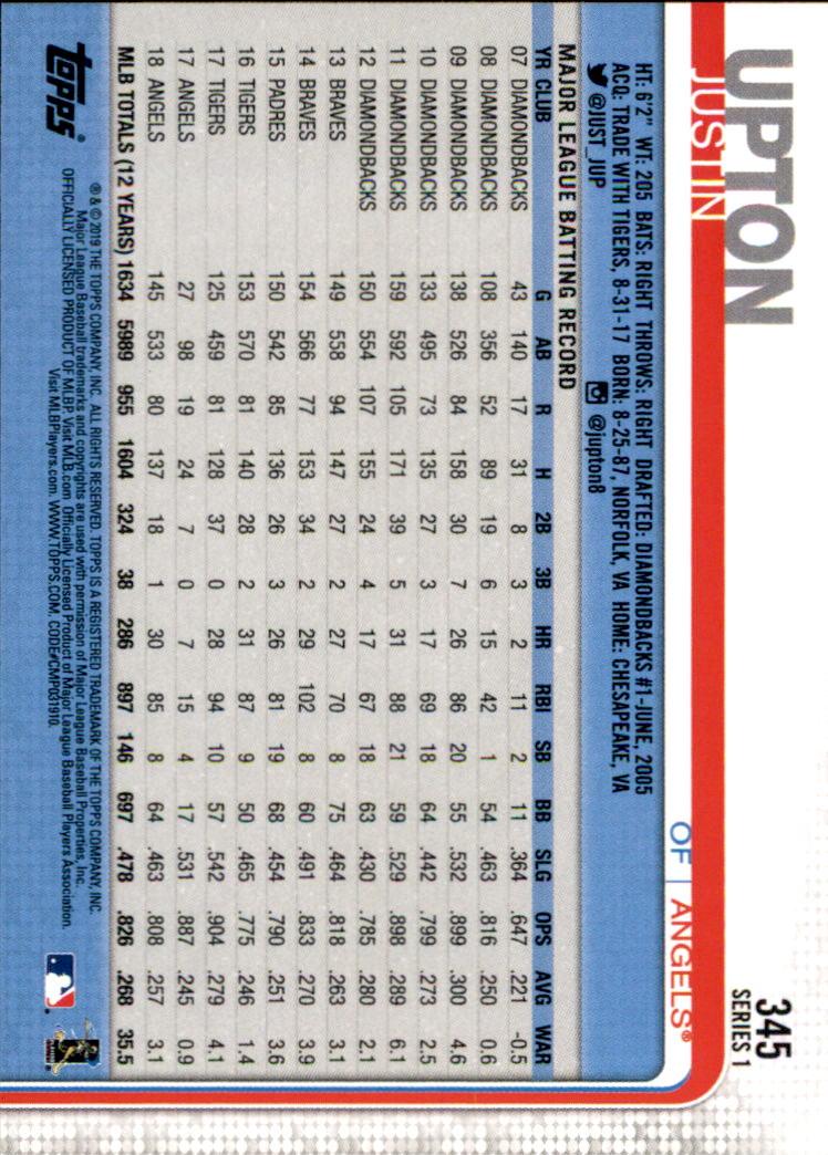 2019-Topps-Baseball-Scheda-Scegliere-251-500 miniatura 191