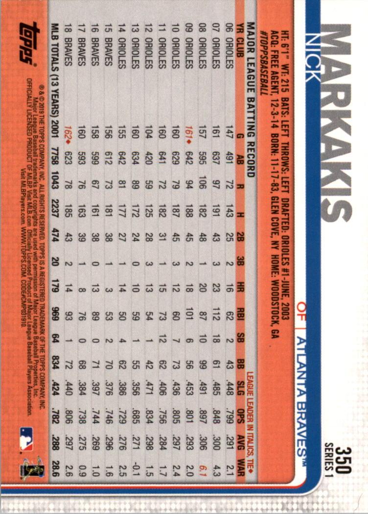 2019-Topps-Baseball-Scheda-Scegliere-251-500 miniatura 201