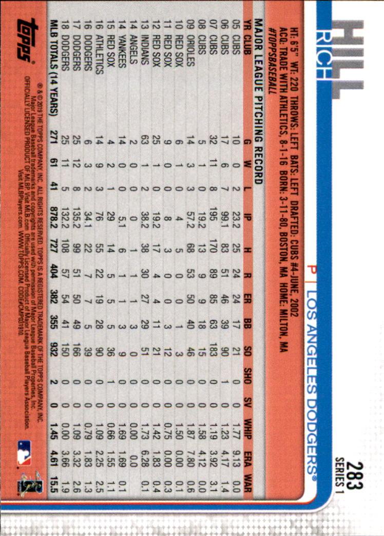 2019-Topps-Baseball-Scheda-Scegliere-251-500 miniatura 67
