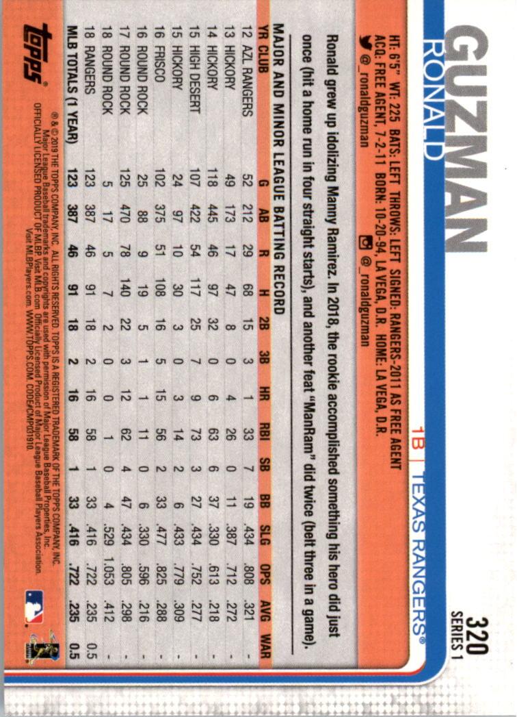 2019-Topps-Baseball-Scheda-Scegliere-251-500 miniatura 141