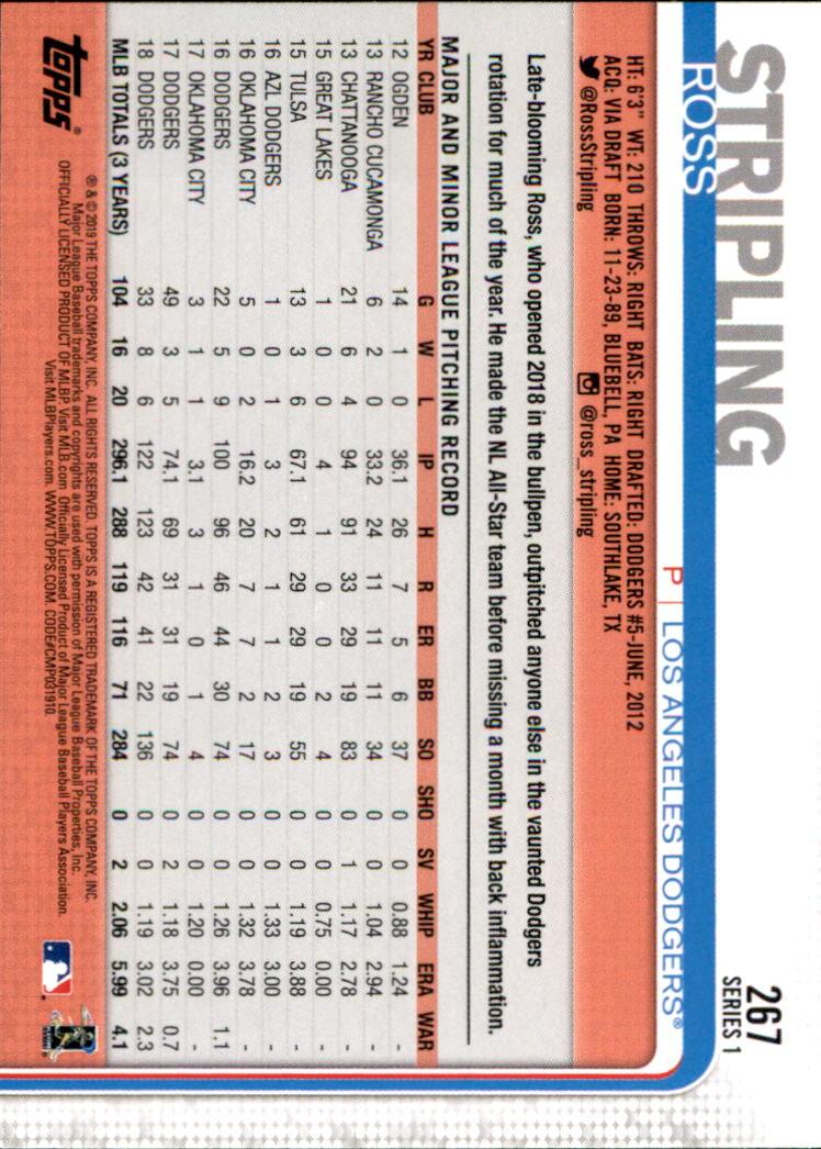 2019-Topps-Baseball-Scheda-Scegliere-251-500 miniatura 35