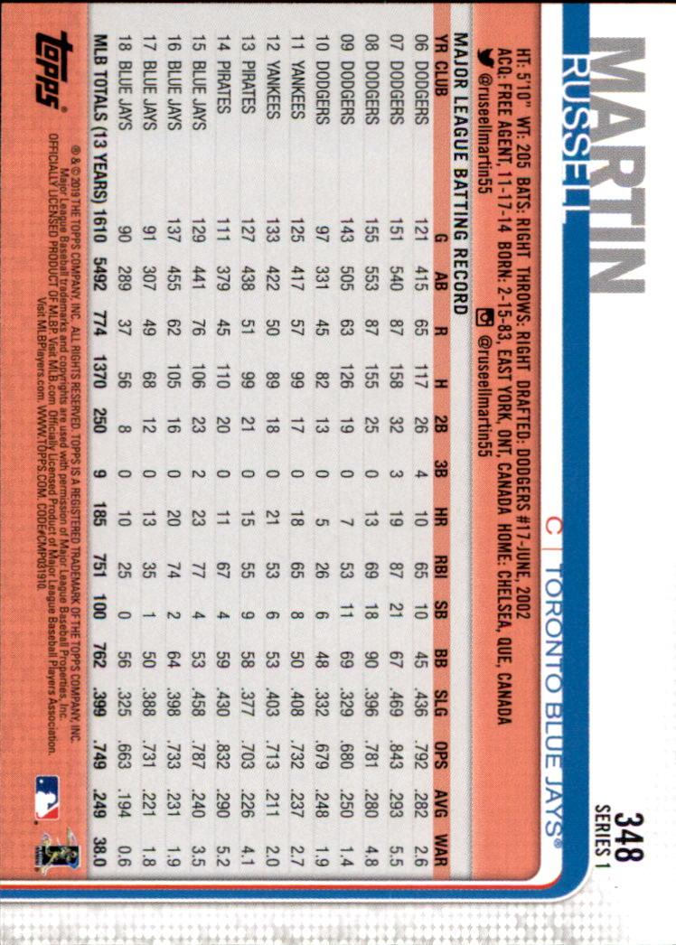 2019-Topps-Baseball-Scheda-Scegliere-251-500 miniatura 197