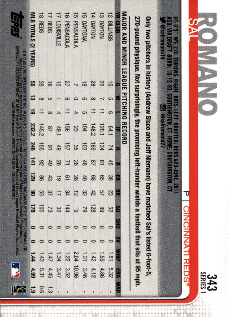 2019-Topps-Baseball-Scheda-Scegliere-251-500 miniatura 187