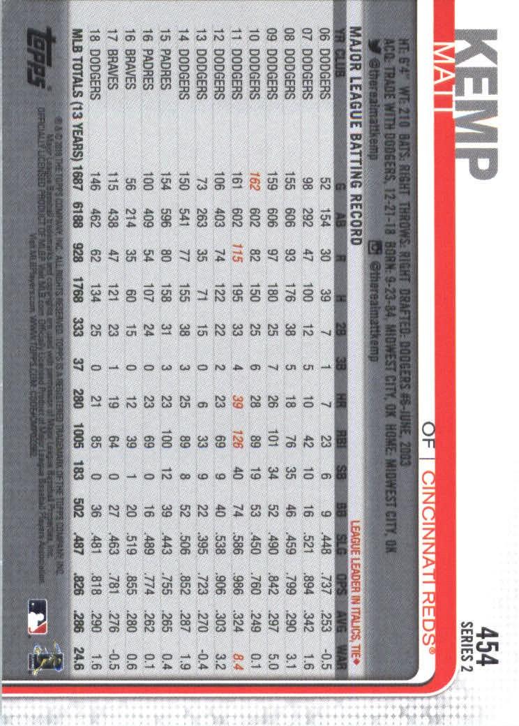 2019-Topps-Baseball-Scheda-Scegliere-251-500 miniatura 397