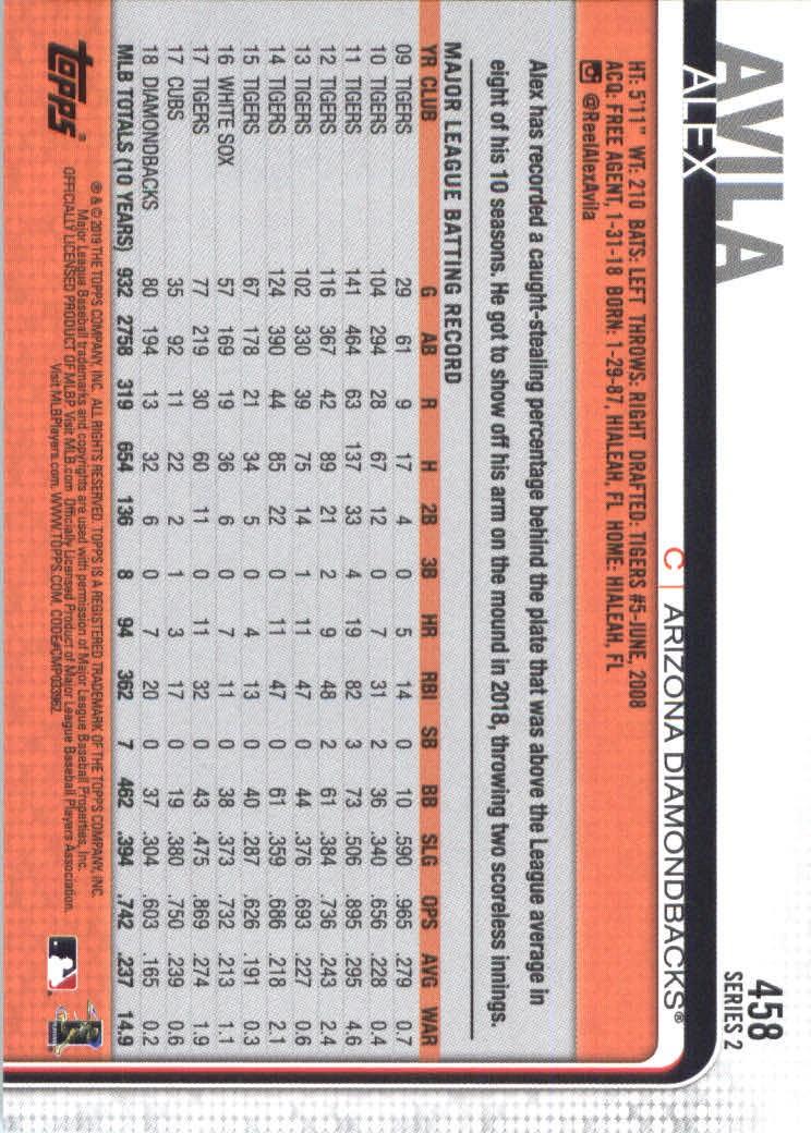 2019-Topps-Baseball-Scheda-Scegliere-251-500 miniatura 403