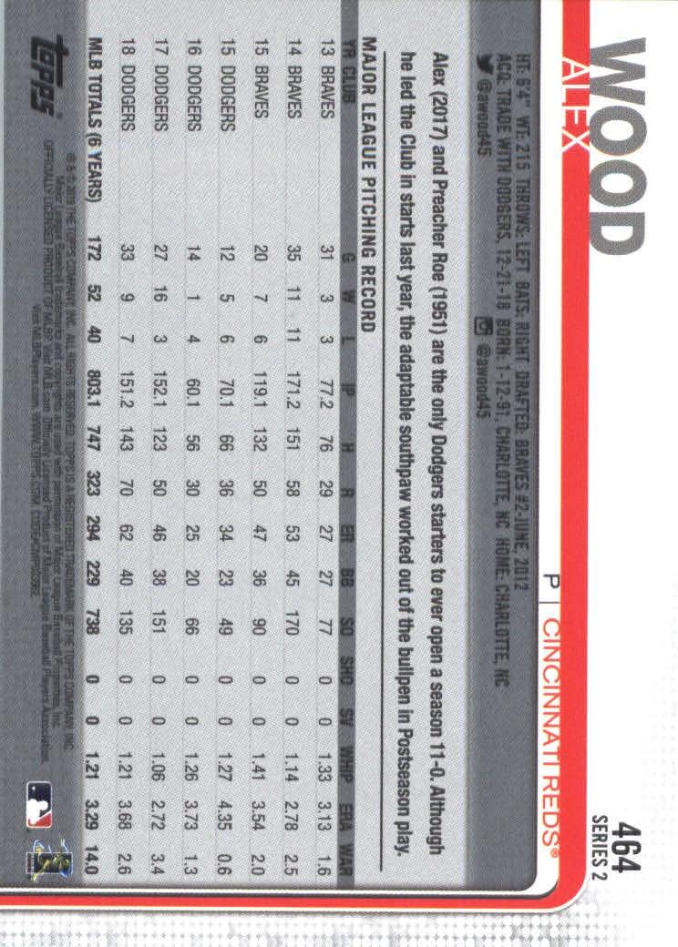 2019-Topps-Baseball-Scheda-Scegliere-251-500 miniatura 413