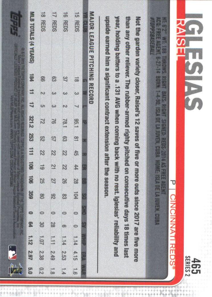 2019-Topps-Baseball-Scheda-Scegliere-251-500 miniatura 415