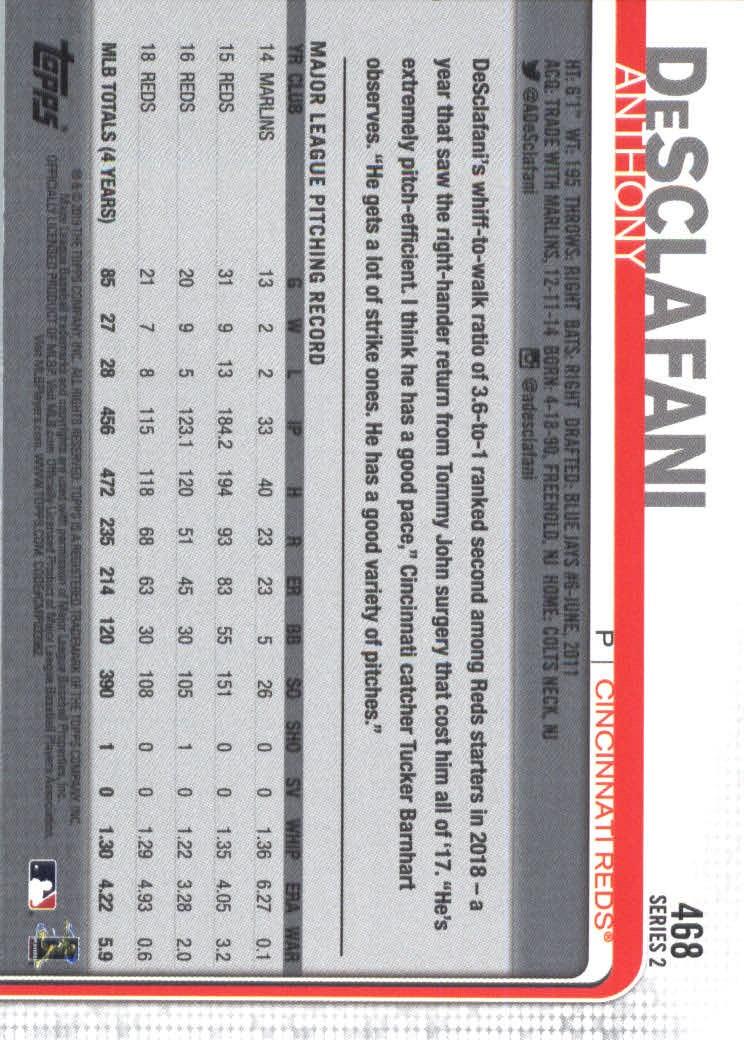 2019-Topps-Baseball-Scheda-Scegliere-251-500 miniatura 421