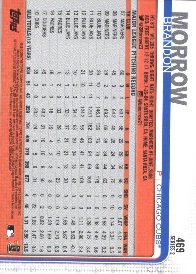 2019-Topps-Baseball-Scheda-Scegliere-251-500 miniatura 423