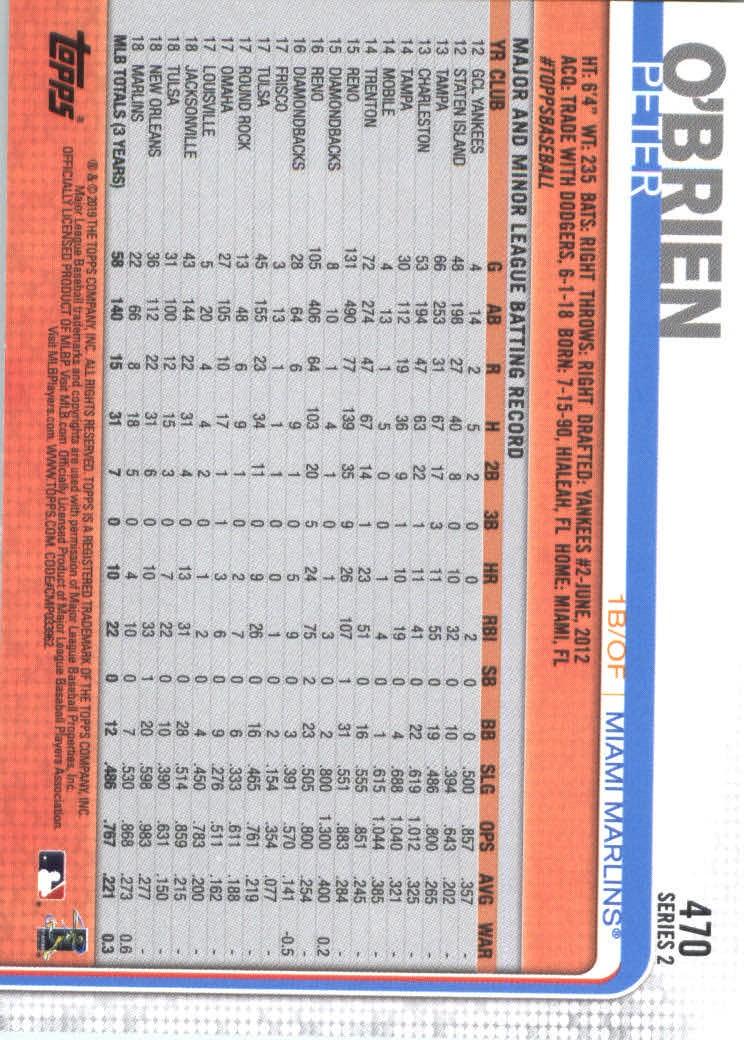 2019-Topps-Baseball-Scheda-Scegliere-251-500 miniatura 425