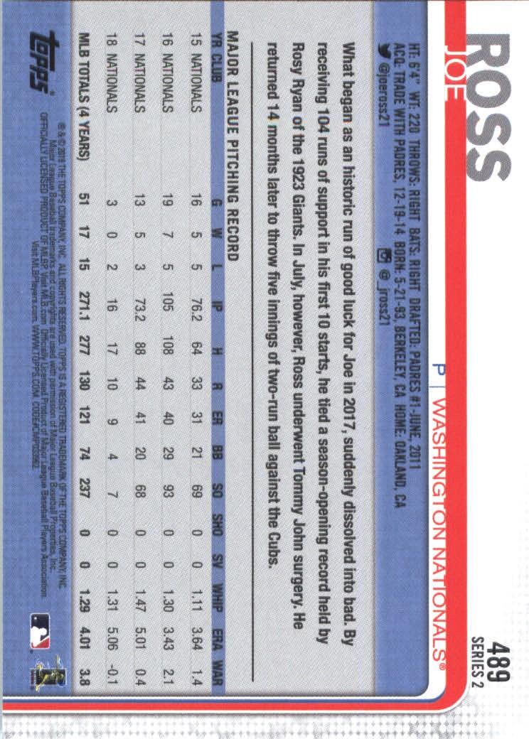 2019-Topps-Baseball-Scheda-Scegliere-251-500 miniatura 459