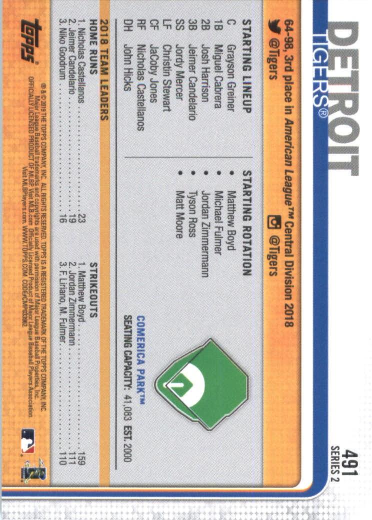 2019-Topps-Baseball-Scheda-Scegliere-251-500 miniatura 463